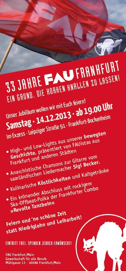 Einladung33JahreFAU-Frankfurt