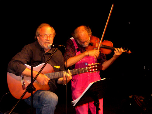 Sigi und Klaus im TiV am 1.06.2012, Foto: Elke Christmann